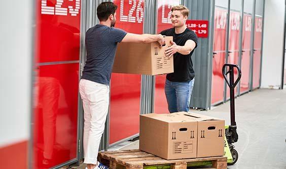 Lagerboxen Self Storage In Muenchen Obersendling Mieten