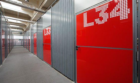 Zugang Zu Den Lagerräumen Berlin